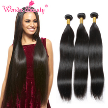 8A Fashion Virgin Brazilian Straight Hair 3pcs lot Unprocessed Human Hair Weave Queen Beauty Weave Co.Ltd Fast and Free Shipping
