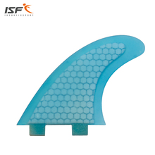 High quality fiberglass honeycomb surf fins quilhas fcs surf thrusters fcs G5 surfboard fins pranchas de surf sup board fcs fins(China)
