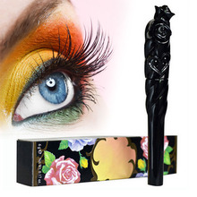 Professional Waterproof Thick Lengthening Curl Eyelashes Mascara Women Ladies Cosmetic Mascara Brand Makeup maquiagem(China)