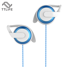 TTLIFE Gaming Earphone Earhook With Microphone Headphones For Mobile Phone Xiaomi Phone Computer Tablet PC(China)