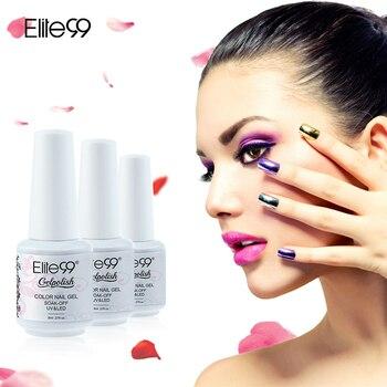 Elite99 8 ml Écologique Top Qualité UV LED Gel Vernis À Ongles 50 Couleurs Nail Gel Usine Directe Facile Soak Off Gel laque