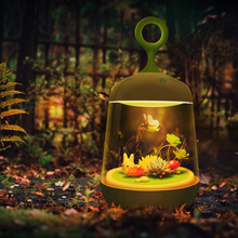 Live Succulent Potted night light Totoro Portable Touch Sensor USB LED Baby Night Light Table Bedside Home Decor Lamp Child Gift