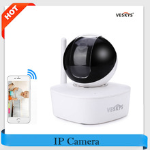 VESKYS 960P HD WiFi IP Camera 90 Degree FOV P2P Network Security Cam 1.3MP Night Vision IR-Cut Support APP PTZ Remote Control