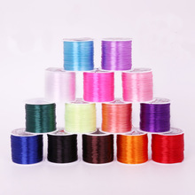 Wire 60m 0.7mm Colorful Stretchy Elastic Cord Crystal String Wire For Jewelry Making Beading Bracelet Wire Fishing Thread Rope