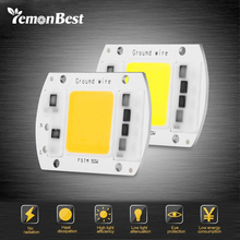 LemonBest LED COB Lamp Chip 50W 220V Input Smart IC Driver Fit For DIY LED Floodlight Spotlight Cold/Warm White