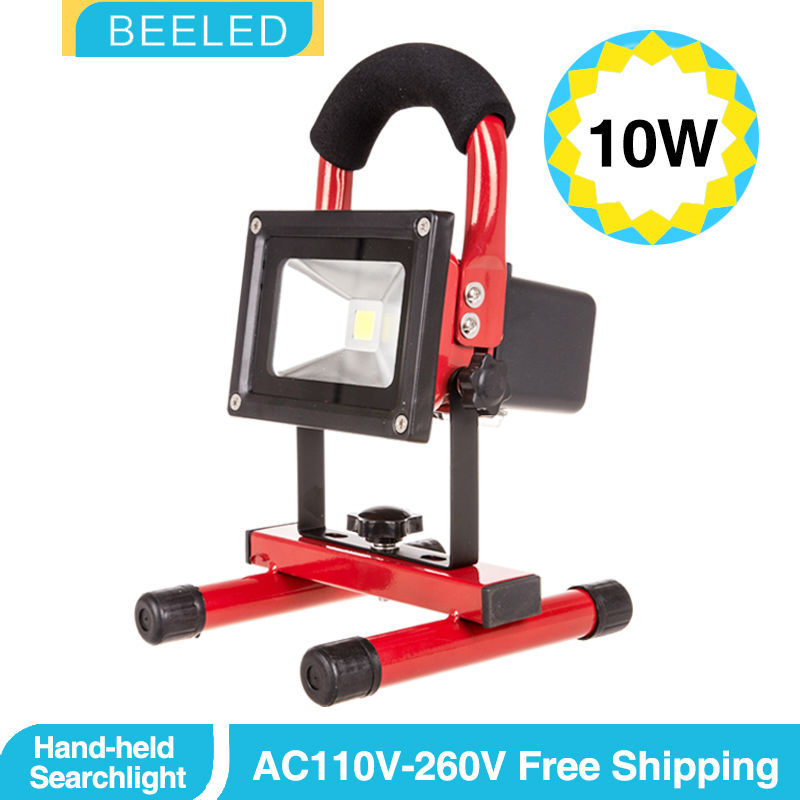 Best portable Led  floodlight 10w 20W 30W Rechargeable flood light IP65 warm white outside Camping lamp with charger Work Lamp<br><br>Aliexpress