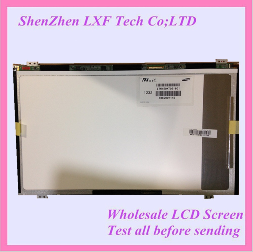Original NEW 15.6 Laptop LCD LED SCREEN LTN150KT02 LTN150KT02-801 Free shipping <br><br>Aliexpress
