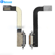 Netcosy New For ipad3 USB Charging Dock Port Charger Connector Rear Back Flex Cable Ribbon For iPad 3 Repair Parts Replacemt(China)