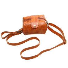 Women Bag PU Leather Women Messenger Bag Rivet Camera Bag Women Handbag Day Clutch Women Shoulder Bags Brown
