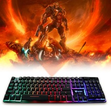 Newly K9 Floating keys Magnet booster Chroma Luminous Light Gaming Keyboard