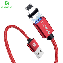 FLOVEME New Magnetic USB Cable 3A Fast Charging Data Transfer Cable iPhone XS 2018 Micro USB Type C Cable Samsung Note 9