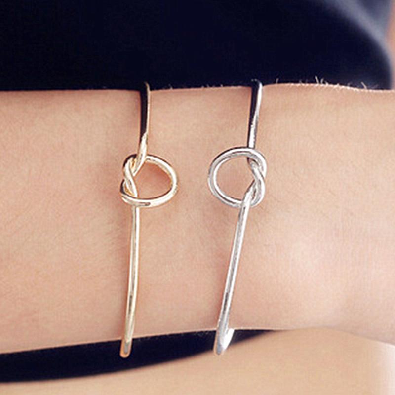 SL231-Knot-Cuff-Bracelets-Bangles-Fashion-Open-Bangle-Women-Bracelet-Pulseiras-Pulseira-Feminin-LOVE-Valentine-s