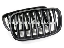 Factory Price Matte Black Front Grille For BMW e70 X5/X5M e71 X6/X6M series Front Grille 07-13(China)
