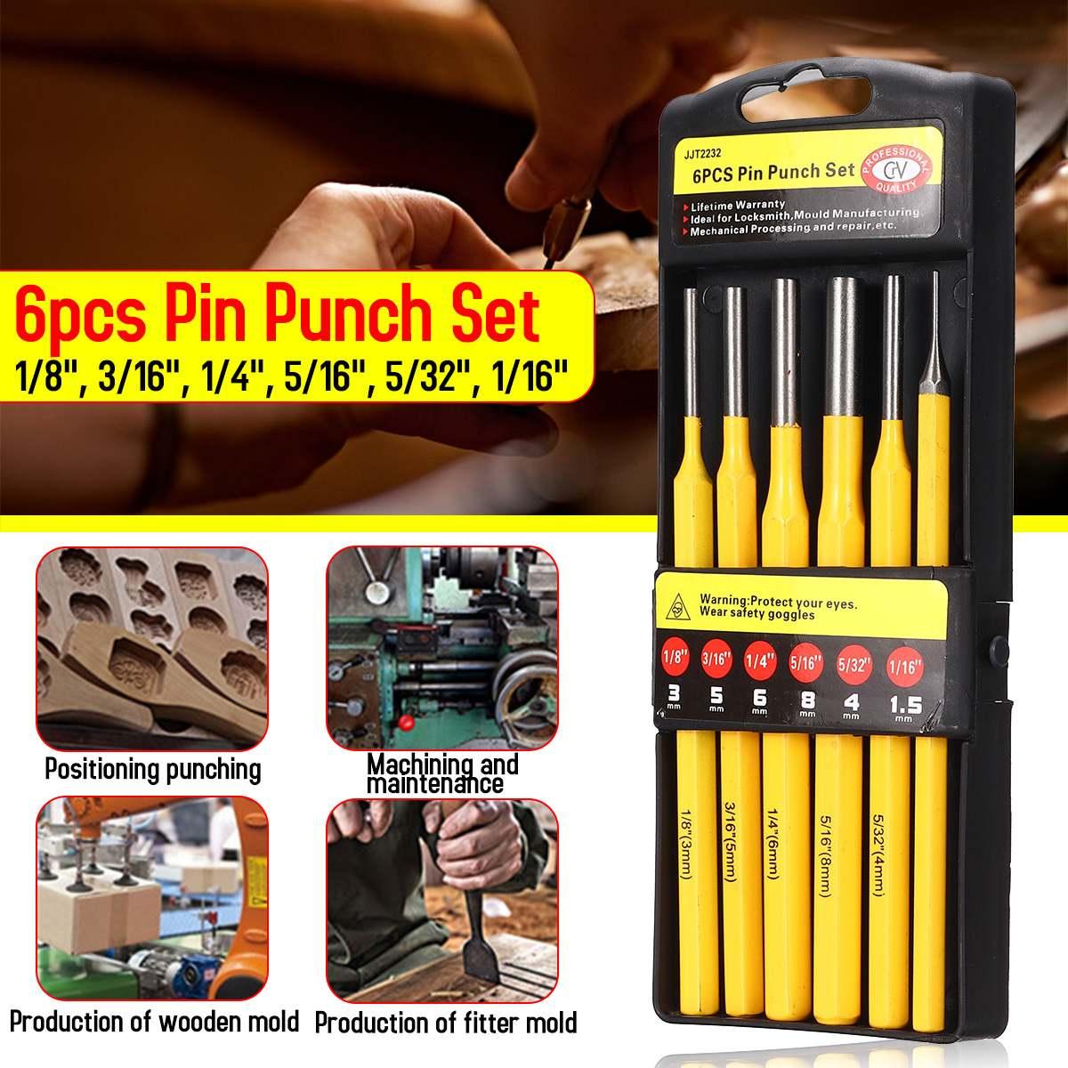5-Pieces-Set 5pce Silverline Pc13 Centre Punch Set