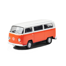 Welly VW T2 mini bus T2 VAN1:36 alloy models T2 model car Diecast Metal Pull Back Car Toy For Gift Collection
