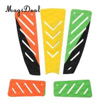 MagiDeal 5Pcs Traction Tail Pad Deck Grip Mat Water Sports Surf Surfing Surfboard Shortboard Longboard Skimboard Decor Accessory