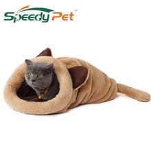 2016 Spring New Products Cat Bed Soft Warm Cat House Pet Mats Puppy Cushion Rabbit Bed Funny Pet Products 4 Color(China)