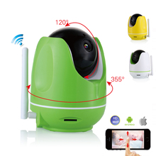 Wireless wifi IP CCTV Camera 960P PTZ remote control Pan/TILT two way audio Motion detection ir night vision TF Card storage
