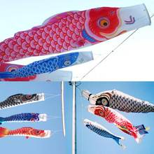 1pc Windsock Carp Wind Sock Flag Colorful Japanese Style mini Koinobori Gifts Fish Wind Streamer Home Party Decorations