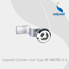 2015 Sale Cadeado Saipwell Spms705-2-3 Garage Door Lock Cylinder with Knob Electrical Cabinet Locks(lock Cylinder) 10-pcs-pack(China)
