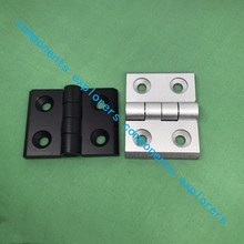 3040 Metal hinges for profile connections, Silver,10pcs/lot.(China)