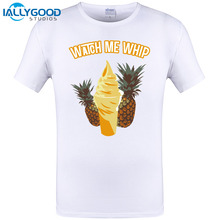 2017 Newest Summer Mens T Shirt Dole Whip Design Short Sleeve Tee Casual Cotton Funny Cool Tops Tee Shirts Plus Size S-6XL(China)