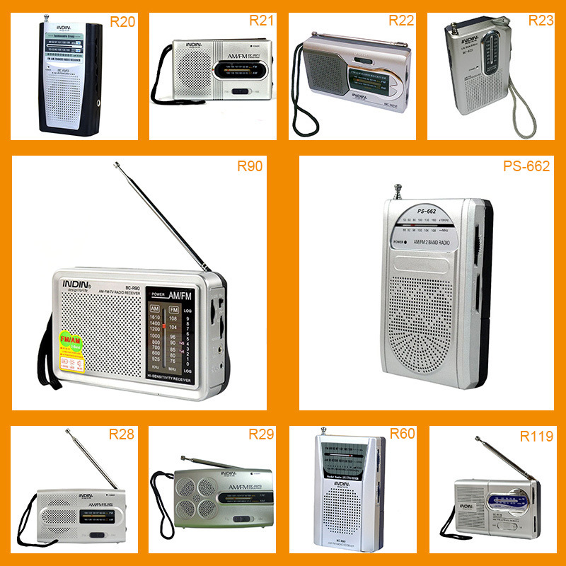 6 Factory Selling Direct Selling BC-R20 Multi-Function Radio Old Stereo Radio FMAM Radio Receiver Mini Speaker Radio MP3 Player