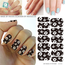 Minx nail sticker the water adhesive foil nail art decorations a tool water decals 3d design nail sticker makeup