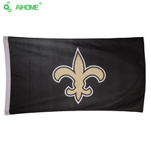 3 x 5 FT American New Orleans Saints Football Team Flags Memorial Flags And Banner Polyester High Quality USA NFL Flying Flag