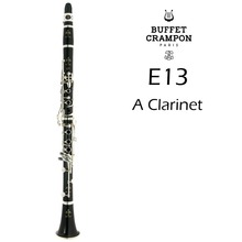 Clarinet Buffet Crampon Musical-Instruments Mouthpiece Wood-Material E13 17 with Case