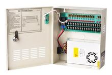 CCTV Camera Power Supply DC 12V 10A 18 Channels Distribution Box AC90V-264V Input(China)