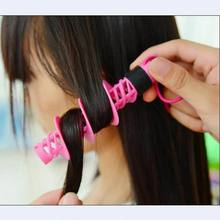 Good quality DIY spiral hair curler curl sticks hair rollers for curly hair curling tools as hair hairdressing styling tools