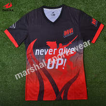 where can i custom soccer jersey 100%polyester top quality sublimation customized 2016 2017 football jersey(China)