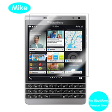 Tempered Glass Screen Protector For Rim BlackBerry Passport Silver Edition 2.5 9h Safety Protective Film on Blackbarry Dallas