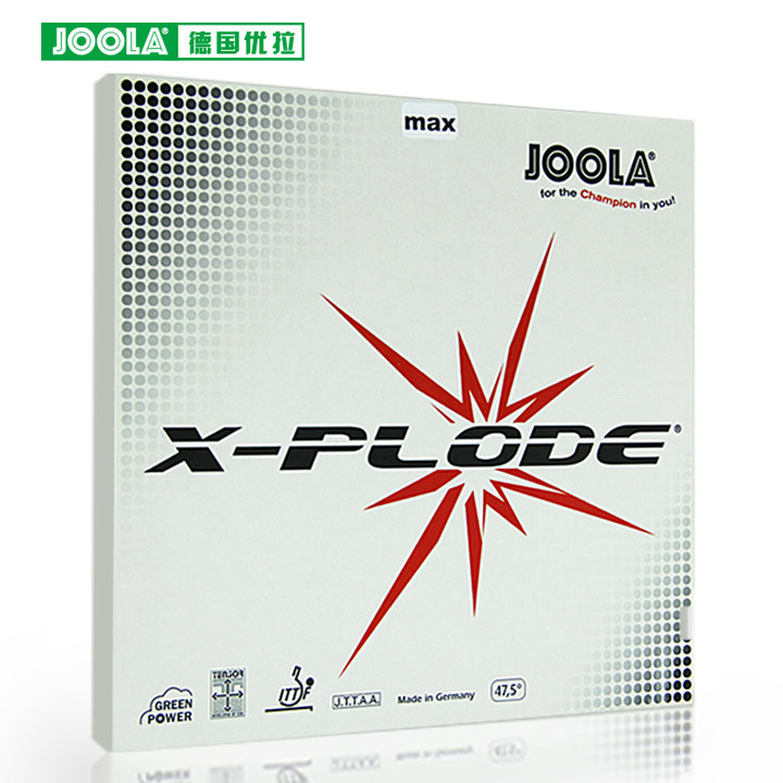 Joola EXPRESS X-plode (Speed &amp; Spin) Table Tennis Rubber Pimples In Ping Pong Rubber With Sponge<br>