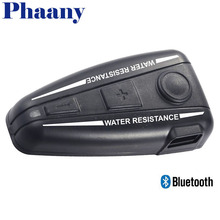 Phaany Headphone Helmet Headset Bluetooth 3.0 FM Radio Music Automatically Answer Handfree Waterproof For Phone GPS MP3