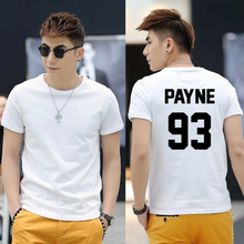 1D Liam Payne 93 Shirt One Direction T Shirt Cotton Fashion Men short Tee colors top for mens women  free shipping