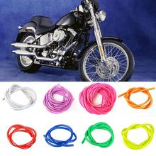 Universal Motorcycle Bike 1M Petrol Fuel Hose Gas Oil Pipe Tube