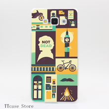 3106CA Sherlock The Empty Hearse Transparent Hard Cover Case for Galaxy A3 A5 A7 A8 Note 2 3 4 5 J5 J7 Grand 2 & Prime