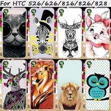 Hard Plastic Soft TPU Mobile Phone Cases For HTC Desire 626 628 826 D826 526 326 816 800 828 830 Cover Shell Skin Housings Bags