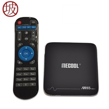 NEW M8S Pro +2GB/16GB Amlogic S905X Octa Core Android 7.1 2.4G Wifi Support IEEE 802.11 b/g/n 10/100 M LAN android smart tv box(China)