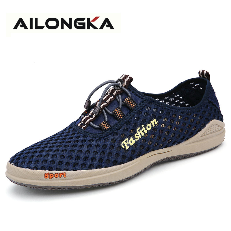2017 Hot Men Shoes Sapatos Tenis Masculino Male Fashion Summer Shoes for Man Casual Lace Up Sport Zapatillas Men Shoe Casual<br><br>Aliexpress