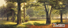 Canvas Prints landscape art oil painting Giclee canvas prints fine art  for living hall 13-Gfj- (9) 120x50cm