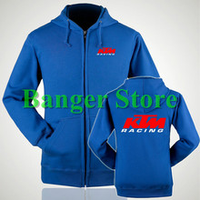 KTM race motorcycle clothing knight coat zipper sweatershirts casual ktm hoodie