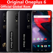 "הקושחה Oneplus הגלובלי 6 4 גרם LTE טלפון סלולרי אוקטה Core אנדרואיד 8.1 6.28 ""IPS 2290X1080 8 GB RAM 256 GB ROM 20.0MP פנים מזהה NFC(China)"