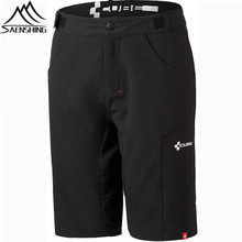 Saenshing Cube Shorts Men Bicycle Cycling Shorts Vtt Adjustable Waist Downhill Mtb Mountain Bike Shorts Sport Bermuda Ciclismo
