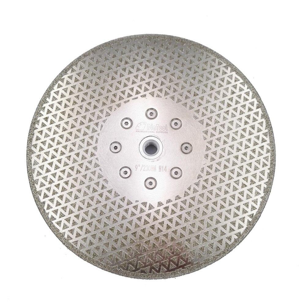 Angle grinder discs for ceramic tiles