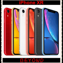 "Apple iPhone XR RAM 3GB ROM 64GB/128GB/256GB Original Unlocked Mobile Phone LTE 6.1"" Hexa Core IOS 12MP Fingerprint Face ID NFC(China)"