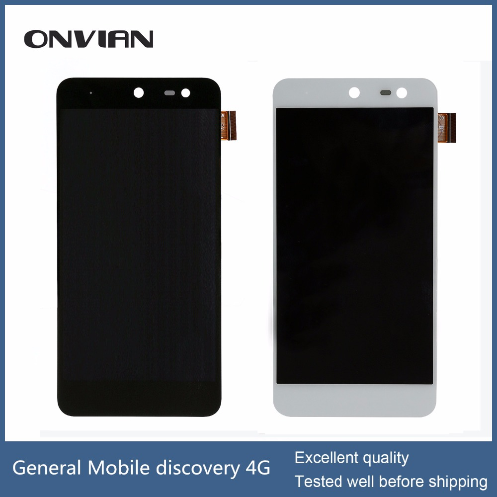 General Mobile discovery 4G LCD Display Touch Screen Digitizer Replacement 100% Original with assuring<br>