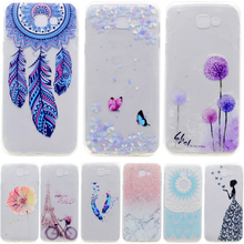 Soft TPU Patterns Case For Capa Samsung Galaxy A3 A5 A7 2017 case For Fundas A320F A520F A720F Skin Gel Soft Cover Phone Case